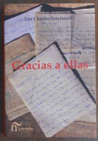 Luz Charito Estefanell. Libro «Gracias a ellas». Portada.